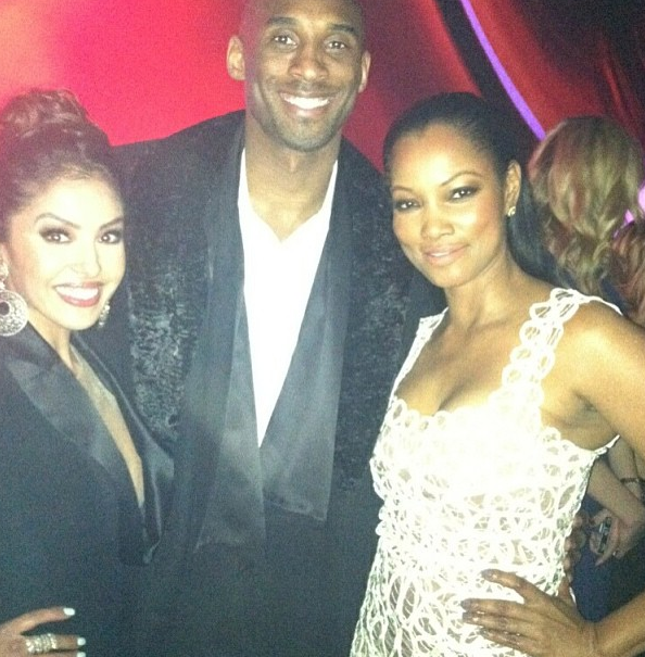 Vanessa &amp; Kobe Bryant and Garcelle Beauvais