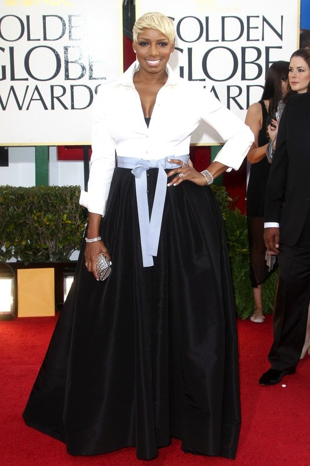 Nene Leakes in Carolina Herrera