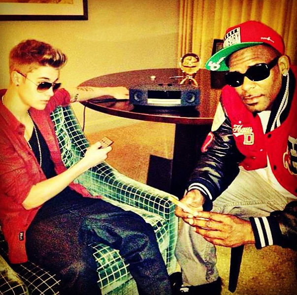 Justin Bieber and R. Kelly