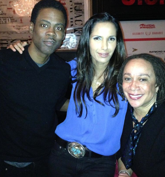 Chris Rock, Padma Lakshmi and S. Epatha Merkerson