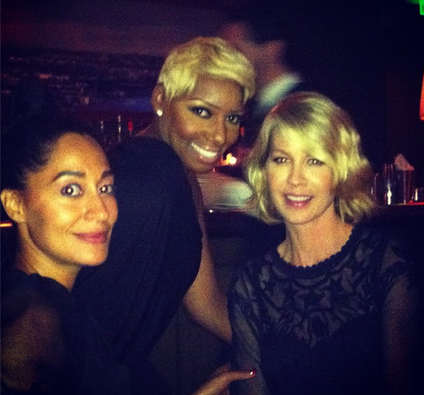 Tracee Ellis Ross, Nene Leakes and Jenna Elfman