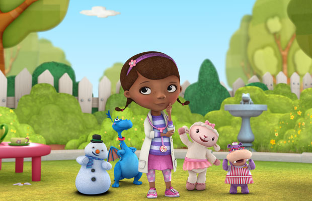 "Disney Junior's ""Doc McStuffins,"" airs weekdays  at 10:30 am and 4:30 pm."