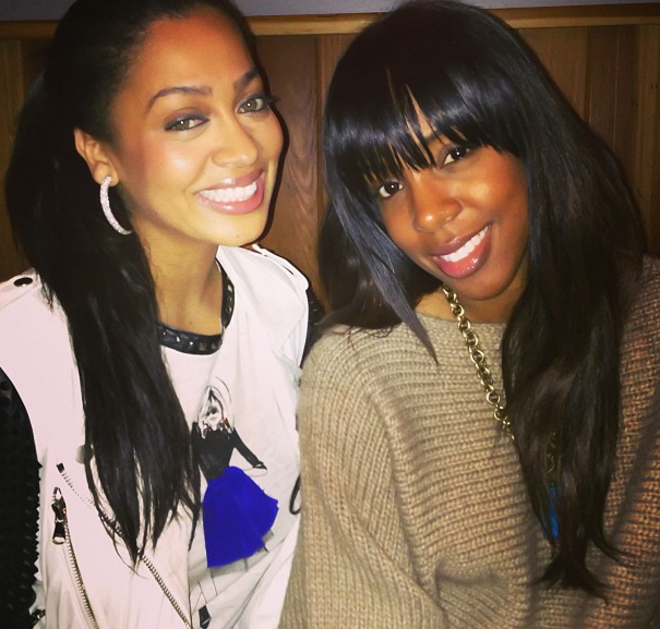Lala and Kelly Rowland
