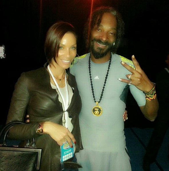 Nicole Murphy and Snoop Lion
