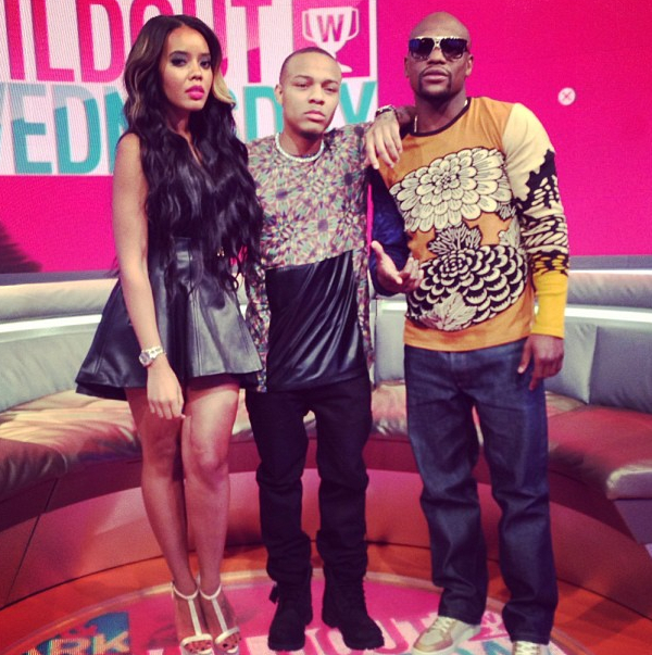 Angela Simmons, Bow Wow and Floyd Mayweather