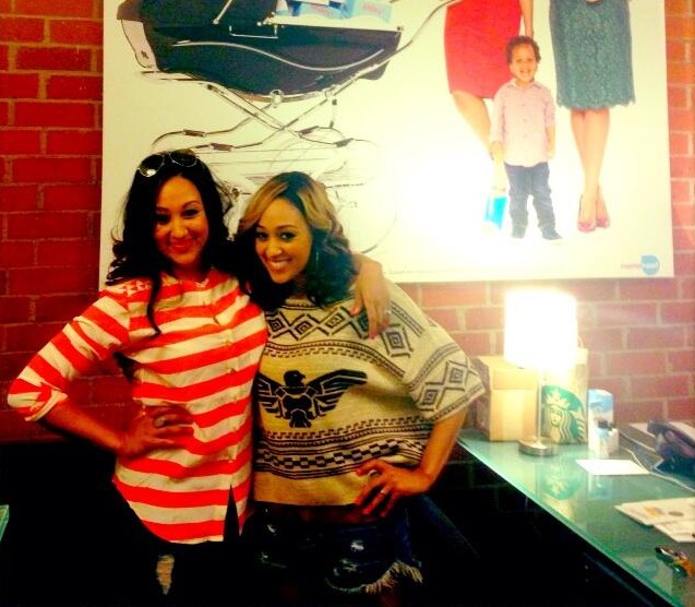 Tia Mowry-Hardrict and Tia Mowry-Housley