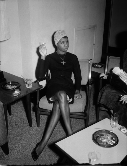 Poet and singer, Nina Simone