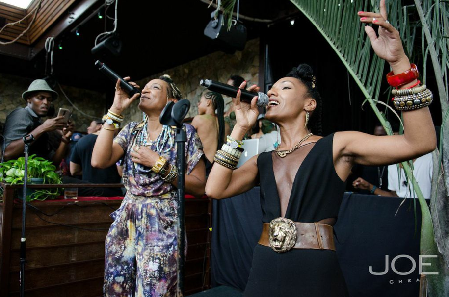 Les Nubians performing at the Dark & Lovely and Everyday People Brunch at DL in New York City on Saturday, September 21, 2014.