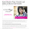 BGG is COCOTIQUE's Blogger of the Month!