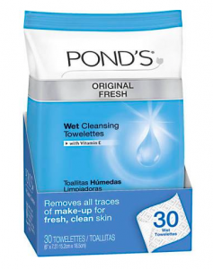 ponds-towelettes