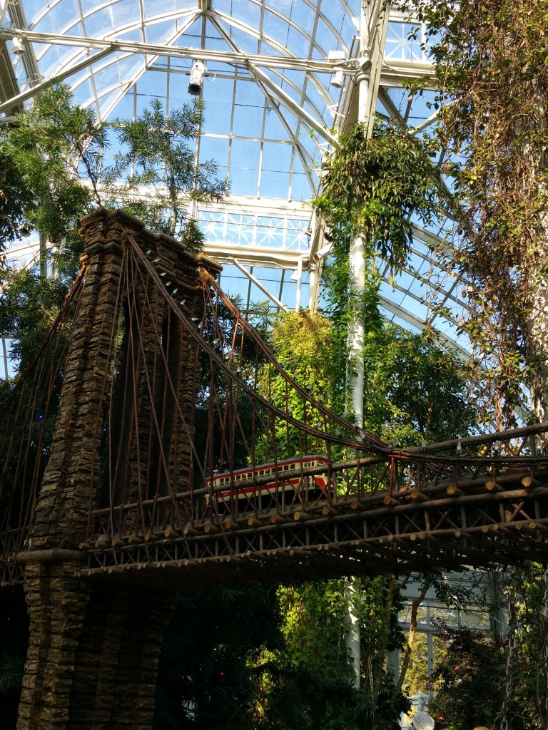 Must see new york botanical garden s 2015 holiday train show for New york botanical gardens train show