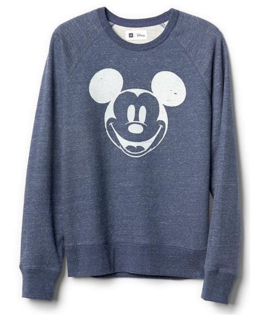 Disney Mickey-Mouse-crew-sweatshirt