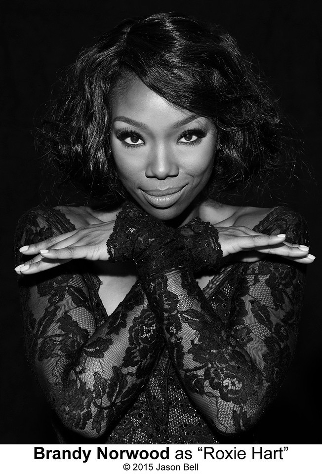 Brandy Norwood as Roxie Hart in CHICAGO THE MUSICAL