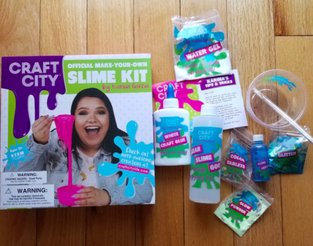 Make slime at home with karina garcias craft city kits make your own slime kit ccuart Gallery