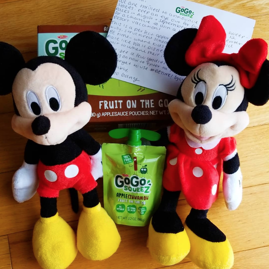 GoGo squeeZ Wants to Send You on Dream Vacation to Walt